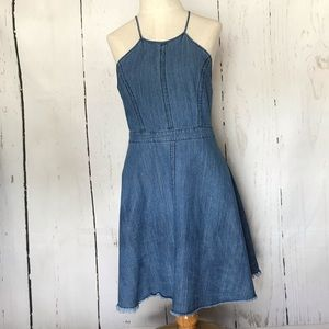 JEALOUS TOMATO denim swing dress